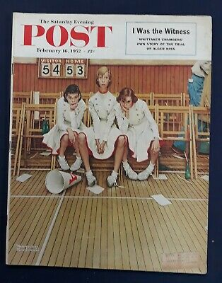 $ CDN25.43 • Buy Norman Rockwell Saturday Evening Post February 16, 1952
