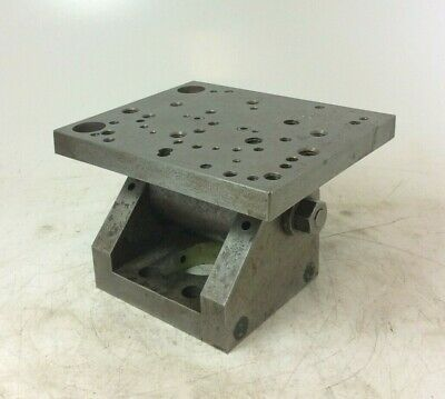 Heavy Duty Adjustable Tilting Milling Table | 7⅛  X 5⅞  Table | 4½  Height  • 70£