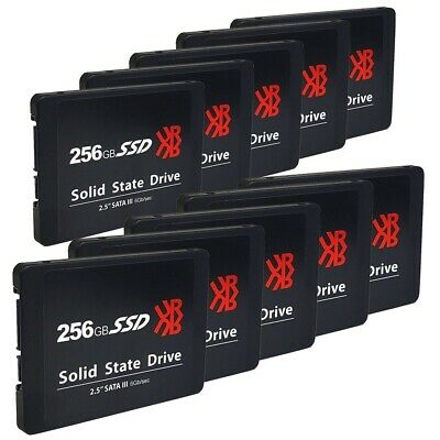 $ CDN314.17 • Buy BRAND NEW ***LOT Of 10*** 256GB 2.5  SATAIII 6Gb/S Read 500Mb/S Internal SSD DR