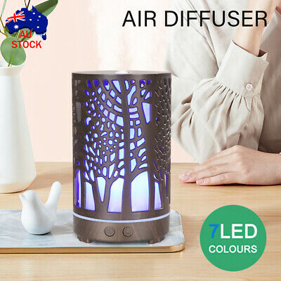 AU25.51 • Buy Ultrasonic Aroma Aromatherapy Diffuser Oil Electric Air Humidifier Essential LED