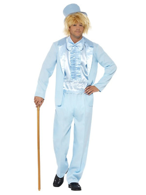 AU64.95 • Buy 90s Stupid Tuxedo Costume, Blue Movie Halloween Party Fancy Dress Costume