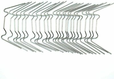 Greenhouse Spare Parts Stainless Steel W Clips Glass Clips Choose From 10 To 200 • 4.49£