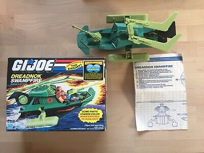 $ CDN39.10 • Buy GI JOE ARAH Dreadnok Swampfire Complete W/Box Hasbro 1986