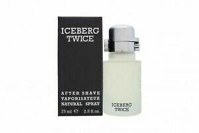 Iceberg Twice Pour Homme Aftershave Lotion 75ml Mens • 14.99£