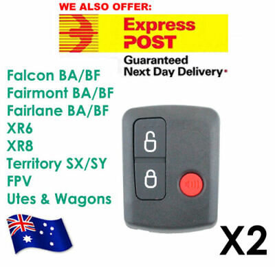 AU19.05 • Buy Ford Remote Control BA/BF Falcon Territory SX/SY/Ute/Wagon 02-10 3 Button