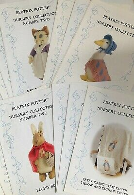 1 Beatrix Potter Nursery Collection Knitting Pattern -Sold Separately  • 22£