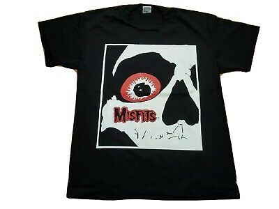 £141.64 • Buy Vintage 90's NOS Misfits T Shirt Size Large Double Sided