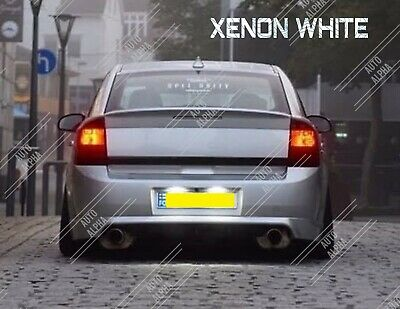 Vauxhall Vectra C 03+ Xenon Bright White LED Number Plate Light Bulbs • 4.75£