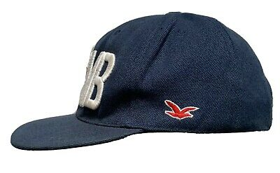 HOLLISTER YMCMB Blue Baseball Cap Snapback A1 Condition One Size  • 5£