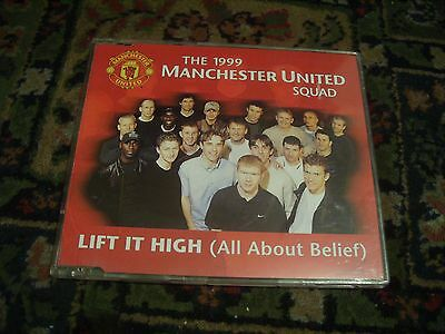 1999 Manchester United Squad - Lift It High (All About Belief) - 3tk CD Single • 0.99£