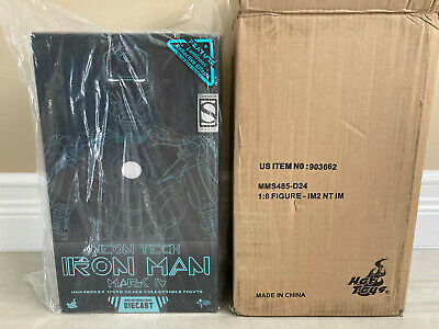 $ CDN816.76 • Buy Hot Toys SDCC Iron Man 2 Neon Tech Iron Man Mark IV 1/6th Scale Die-cast Figure