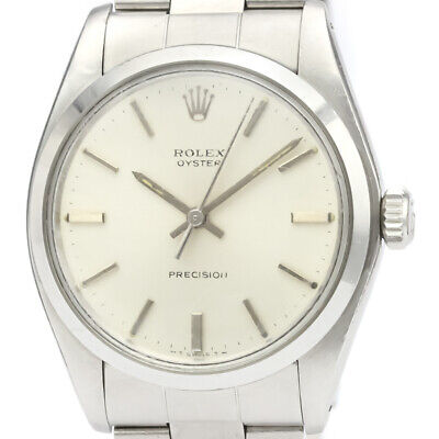 $ CDN2810.60 • Buy Vintage ROLEX Oyster Precision 6426 Steel Hand-Winding Mens Watch BF521234