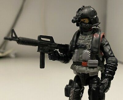 $ CDN39.20 • Buy GI Joe_CUSTOM Cobra Spec Ops Trooper-Action Figure_w/ Weapons And Helmets 3.75in