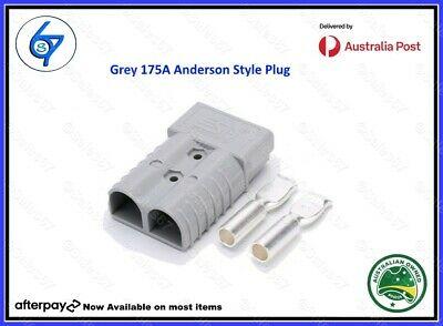 AU20.95 • Buy 2x Grey Anderson Plugs 175 Amp Matched Pair Premium Heavy Duty