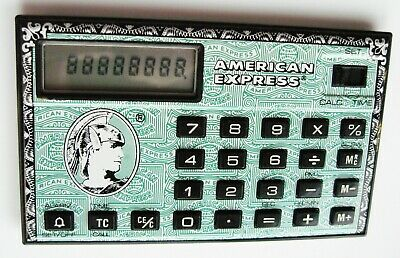 An Excellent, American Express Credit Card Style Calculator From The Early 90's • 14.50£