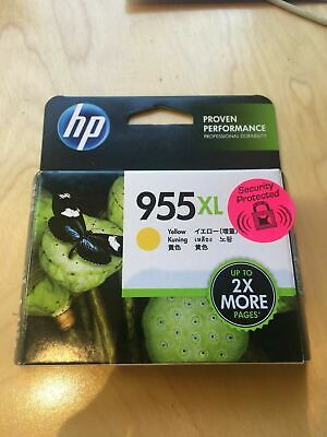 AU27.99 • Buy NEW Genuine HP 955XL YELLOW Ink Cartridge Computer Printer Extra Large Exp 6/20