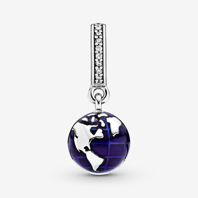 AU15.49 • Buy New 925 Sterling Silver Our Blue Planet Dangle Charm Pandora