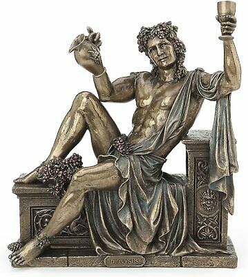 RARE Dionysus Greek God Statue Sculpture Collectible Figurine Greek Decor Accent • 86.79£