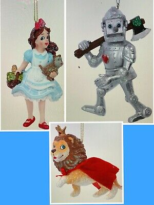 Wizard Of Oz Christmas Hanging Tree Decorations Really Beautiful Quality  • 12.99£