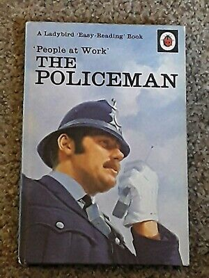 Ladybird Book. People At Work The Policeman  606b  • 6.75£