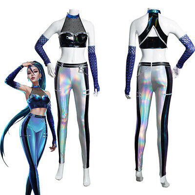 $ CDN77.85 • Buy LOL KDA Groups Kaisa Daughter Of The Void Cosplay Costume Outfits Halloween Suit