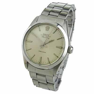 $ CDN4608.10 • Buy Rolex Air-king Oyster Perpetual Stainless Steel Wristwatch 5500 Dated Circa 1966