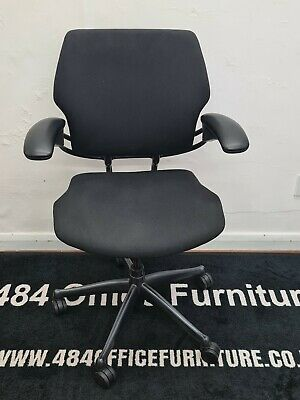 Black Humanscale Freedom Operator Chairs • 125£