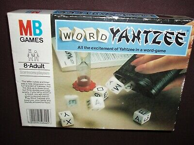 MB Games Word Yahtzee 1979 Complete With Instructions • 3.50£