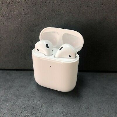 AU109.99 • Buy Apple AirPods 2nd Generation In-Ear Headphone With Wireless Charging Case
