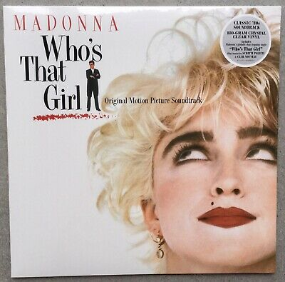 £32.99 • Buy Madonna - WHO'S THAT GIRL LP - Crystal Clear Vinyl  - New And Sealed