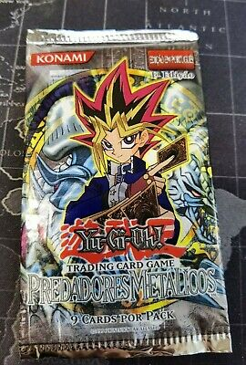 Yu-gi-oh Metal Raiders - 1st Edt. Portuguese [New] Vintage Booster Pack • 12£