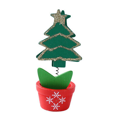 £5.13 • Buy Wooden Christmas Tree Desk Table Top Decorations Xmas Party Ornaments Decor J