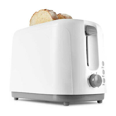 AU12.05 • Buy Anko 2 Slice Toaster 700W White Defrost Reheat Cancel Buttons Bread Electric New