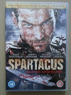 Spartacus - Blood And Sand: Series 1 DVD (2011) Andy Whitfield - 4 Disc Set • 1.99£