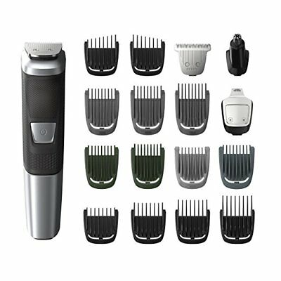AU57.86 • Buy Philips Norelco MG5750/49 Multigroom All-In-One Trimmer Series 5000 With 8Piece,