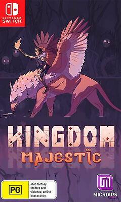 AU22.95 • Buy Kingdom Majestic Limited Edition Switch Game NEW