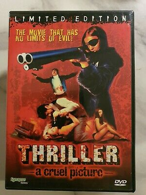 THRILLER – A Cruel Picture. DVD. Totally Uncut. Limited Edition. Super Rare.  • 24.99£