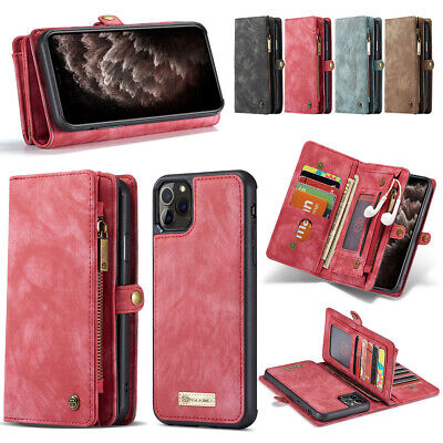 AU29.99 • Buy For IPhone 11 Pro Max XS XR 8 7 6 SE2 Leather Detachable Wallet Phone Case Cover