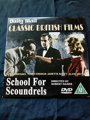Daily Mail Promo DVD  School For Scoundrels  - 1959 B & W Comedy  Ian Carmichael • 1.49£
