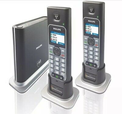 £50.90 • Buy Philips VOIP433 DECT Windows Live Dual Handset Phone System