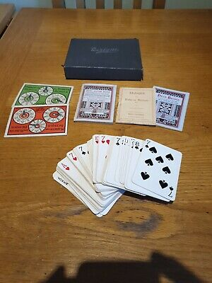 Vintage Bezique And Rubicon  Card Game  • 9.99£