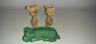 Three Sylvac Animals, Two Dogs And A Cat   • 20£