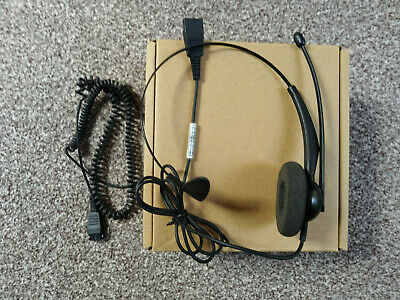 £29.99 • Buy Yealink YHS33 Call Center Headset + Smart Cord For Yealink T23 T21 T20 Others