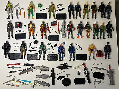 $ CDN66.64 • Buy GI Joe Snake Eyes Duke Beachhead Cobra 25th Modern ROC POC 50th Loose Lot Custom