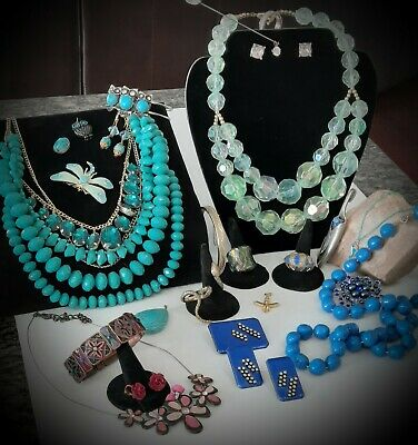 $ CDN15 • Buy 💥💖Vintage & Now Costume Jewelry 31 PC Lot! RINGS~NECKLACES~BRACELETS~MORE!💖💥