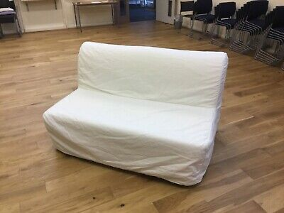 Ikea Lycksele Double Sofa Bed, Slatted Base And Cover • 30£