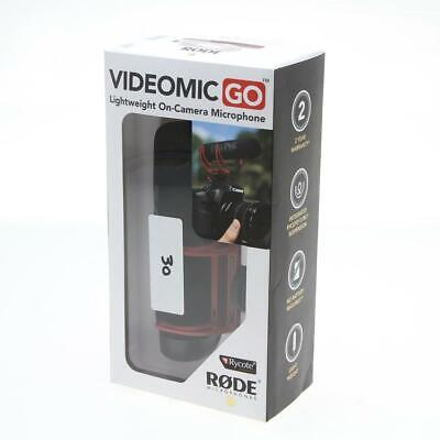 Rode Microphones VideoMic GO Lightweight On-Camera Microphone - SKU#1330452 • 70.84£