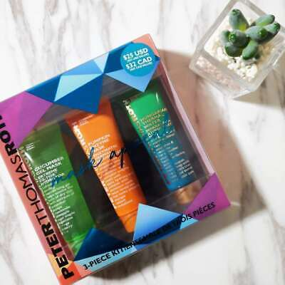 BRAND NEW Peter Thomas Roth LIMITED EDITION 3 Piece Mask Appeal Set • 29.99£