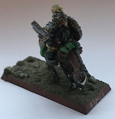 1985 Dwarf ME15 Gimli Mounted Lord Of The Rings Citadel Hero LOTR AD&D Warhammer • 6.80£