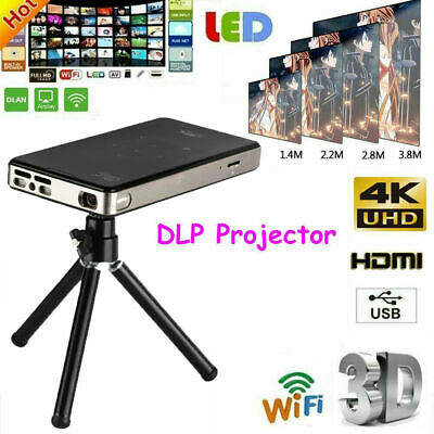 AU299.89 • Buy DLP 7000 Lumens Android Wifi 4K HD 1080P Home Theater Projector  HDMI Christmas